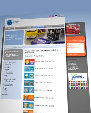 Für die Firma IIC, Innovative Packaging, haben wir in den letzten 8 Jahren schon einige Projekte entwickelt; so auch den bereits zweiten Relaunch der Webseite betreut.  http://www.iic-ag.com