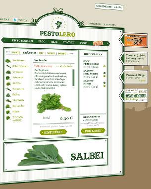 """Bei Pestolero haben wir uns mit voller Kraft in das gehypte Thema """"Masscustomization"""" gestürzt. Bei Pestolero kann man sich Pesto nach eigenen Vorstellungen mischen lassen.   http://www.pestolero.de  (Pestolero pausiert.)"""
