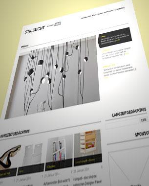 """Für unseren Freund Kai Petermann und seinen bekannten Blog """"Stilsucht.de"""" haben wir einige Anpassungen und Erweiterungen am Wordpress-Theme vorgenommen.  http://www.stilsucht.de"""